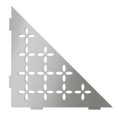 Shelf-E Floral Stainless Steel