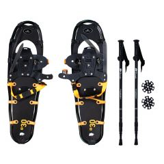 """30"""" Large Snow Shoes With Poles"""