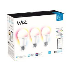 60W A19 Frosted WiFi Full Color And Tunable White Smart LED