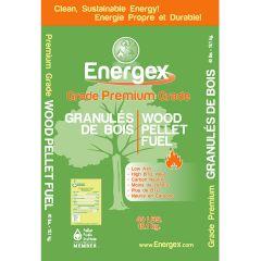 Energex Wood Pellets-40lb/Bag