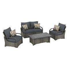 Fox Harbour Fire Lounge Set-5/Piece