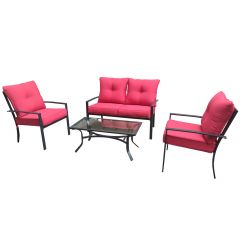 Belmont Lounge Set-4/Piece