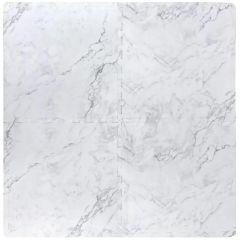 "24"" x 24"" Marble Foam Mat-4/Pack"
