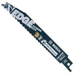 """5pc 6""""8/14 TPI Edge Recip Saw Blades for All Purpose"""