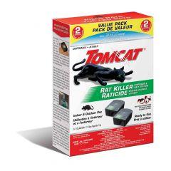 Tomcat Rat Killer Disposable Bait Station -2 x 133g