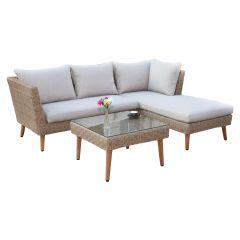 Tobique Sectional 3 Piece Lounge Set