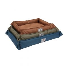 Medium Rectanglar Pet Bed With Folding Edges