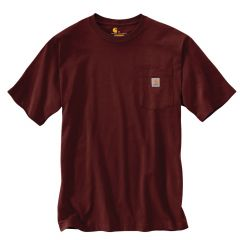 Workwear Pocket Short Sleeve T Shirt Port