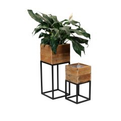 Wood Planter Box Set of 2