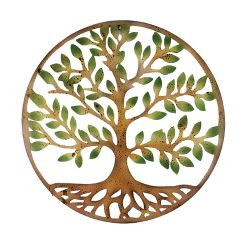 """28"""" Tree Of Life Circle Wall Plaque"""