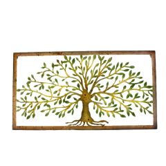 """15"""" x 28"""" Tree Of Life Wall Plaque"""