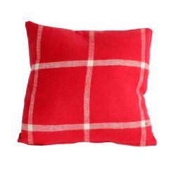 """18"""" x 18"""" Red Cushion"""