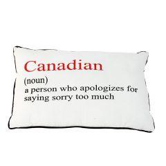 "19"" x 12"" Canadian Definition Rectangular Cushion"