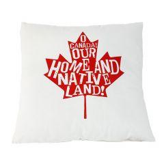 """18"""" x 18"""" Maple Leaf Cushion"""