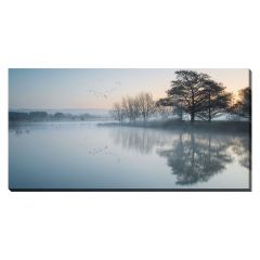 """20"""" x 40"""" Lake In the Mist Canvas"""