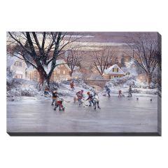 "22"" x 28"" Hometown Hockey Canvas"