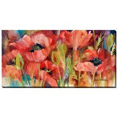 """20"""" x 40"""" Petals on Parade Canvas"""