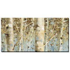 """20"""" x 40"""" White Forest Canvas"""