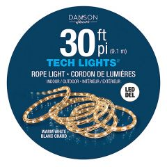 30' Warm White Rope Lights