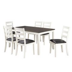 Two-Toned 7 Piece Dining Set