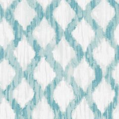 Nuwallpaper Peel And Stick Teal Floating Trellis