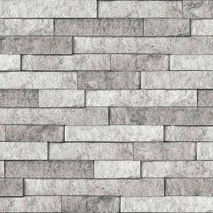 In Home Peel And Stick Backsplash Grey Stone
