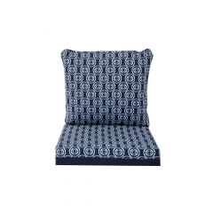 Reversable Deep Seat Cushion-Blue