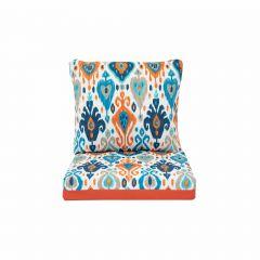 Reversable Deep Seat Cushion-Orange