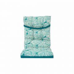 Reversable High Back Cushion-Turquoise