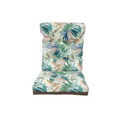 Reversable High Back Cushion-Brown