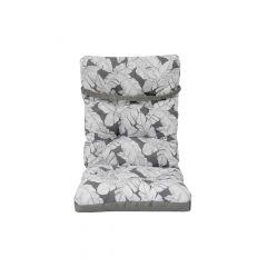 Reversable High Back Cushion-Gray