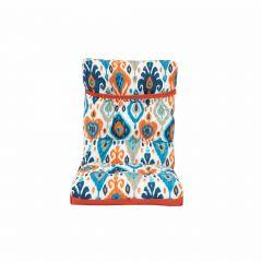 Reversable High Back Cushion-Orange