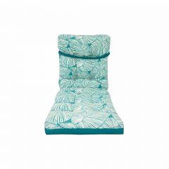 Reversable Lounge Cushion-Turquoise