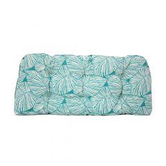 Reversable Athens Loveseat Cushion-Turquoise