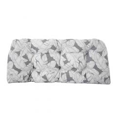 Reversable Athens Loveseat Cushion-Gray