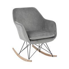 Grey Rocker Chair