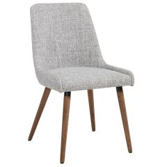 Grey Mia Dining Chair-2/Pack