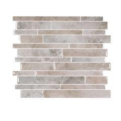 "11.55"" x 9.63"" Smart Tile Milano Todi Mosaik Wall Tile"