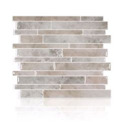 "11.55"" x 9.63"" Smart Tile Milano Todi Mosaik Wall Tile-6/Pac"