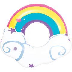 Sunfun Rainbow Swing Ring Pool Float