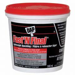 DAP Fast'N Final Lightweight Spackling 946mL
