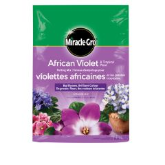 Miracle-Gro African Violet & Tropical Plant Potting Mix  8.8