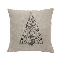 "18"" x 18"" Christmas Tree LED Cushion"