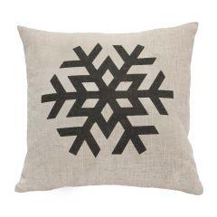 "18"" x 18"" Snowflake LED Cushion"