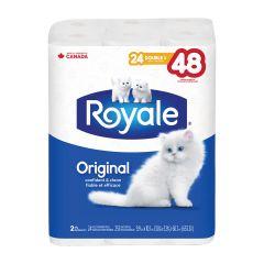 Royale 24 2-Ply Double Bath Tissue