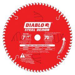 "7-1/4"" x 70T Steel Demon Blade"