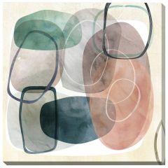 "24"" x 24"" Oblique II Canvas"