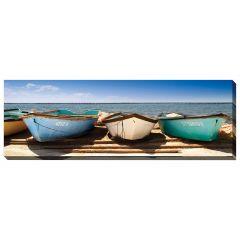 """12"""" x 36"""" Breakwater Boats Canvas"""
