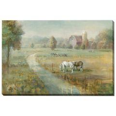 "22"" x 28"" Tranquil Farm Canvas"