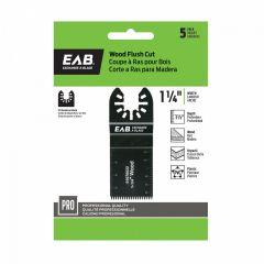 """1-1/4"""" HCS Flush Cut (Wood) 5 Pack Professional Oscillating"""